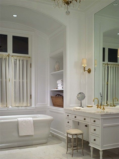 Elegant Bathroom Makeover Ideas Makeup Counter Bathtubs And Bath - 20 elegant bathroom makeover ideas