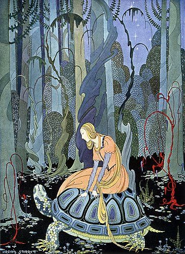 Virginia Sterret; illustration for Old French Fairytales