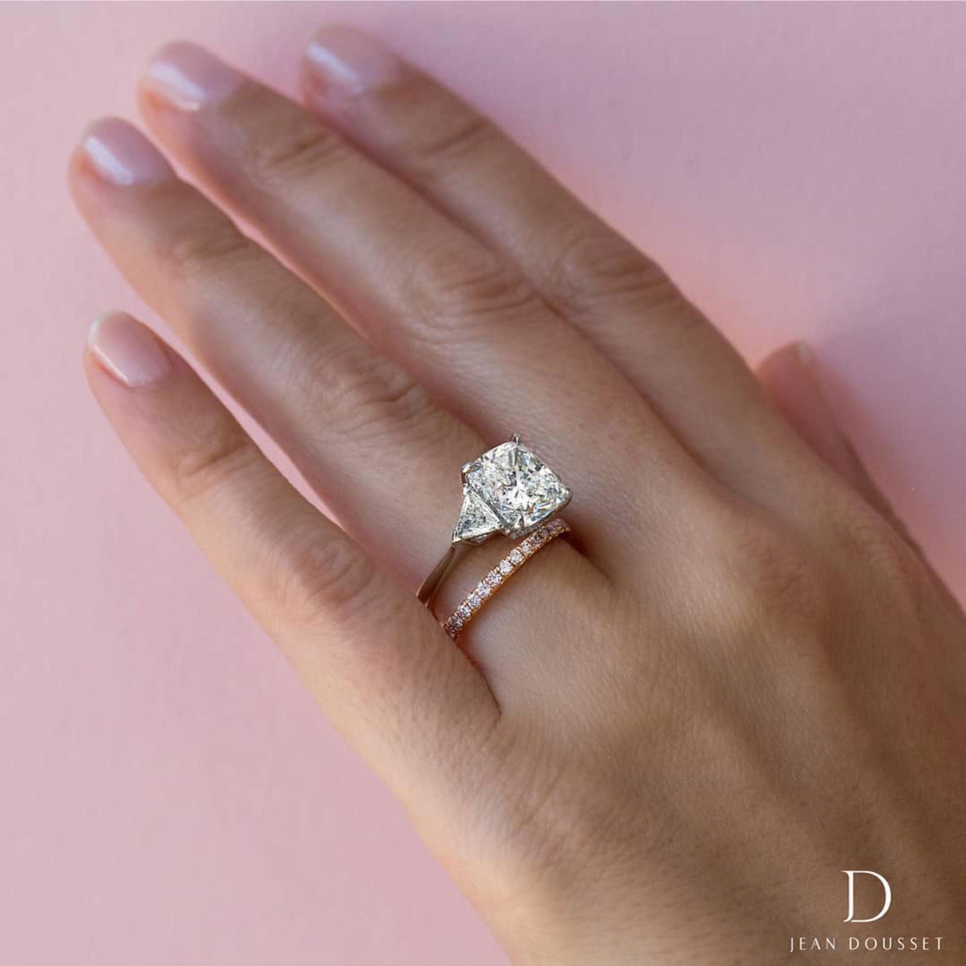 Pin On Jean Dousset Engagement Rings