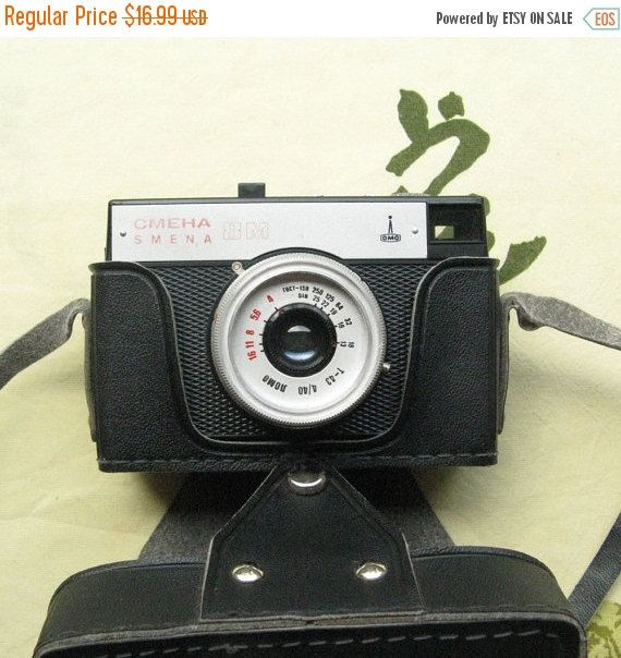 20% OFF Vintage Smena  8M Camera, Working Camera, Photography Gifts, Antique Photography, Antique Cameras, Small Camera, Gift For Photograph https://www.etsy.com/shop/MyBootSale