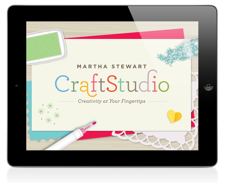 CraftStudio App for iPad | Martha Stewart CraftStudio Projects