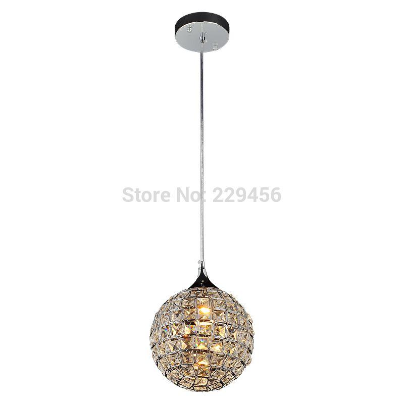 cheap moderna de cristal k luz pendiente de la bola cocina sala de estar lmpara colgante
