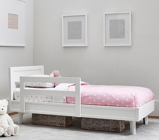 Reese Toddler Bed Guardrail   Pottery Barn Kids