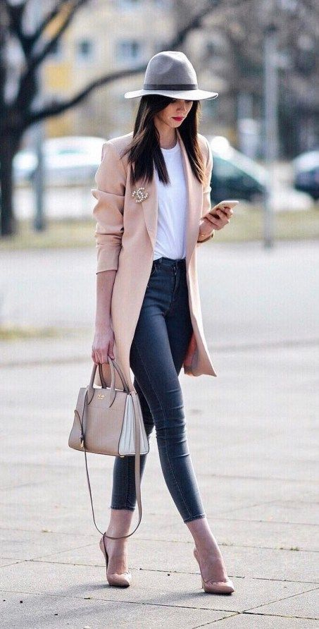 Spring Street Style Outfits Ideas Stijlvolle outfits voor vrouwen die …