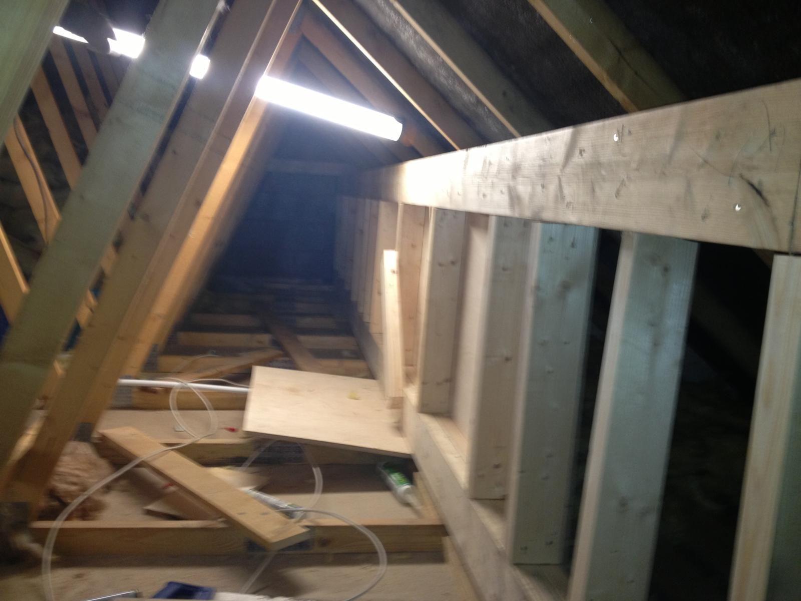 Plywood Box Beam In A Loft Conversion By Attic Designs Ltd