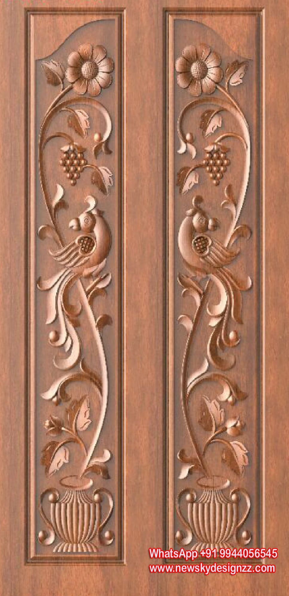 9 Traditional Pooja Room Door Designs In 2020: Pin By Artcam Designs Sale On 50 Traditional Door Designs