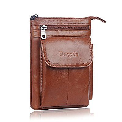0ac5b34d46c7 Hengying Practical Mens Mini Leather Cross Body Bag  Amazon.co.uk   Electronics