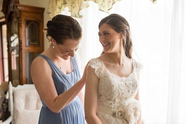 Beautiful Backyard Wedding by BTW Photography   www.onefabday.com