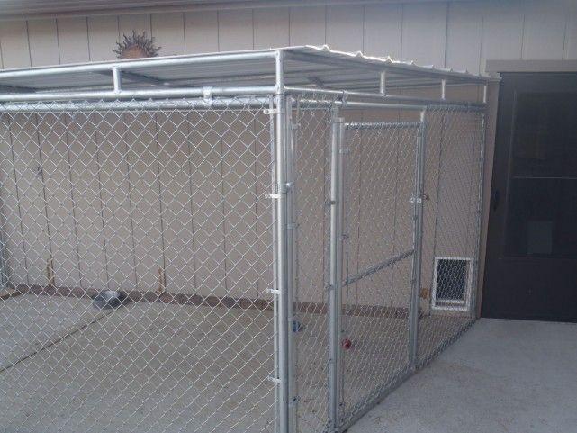 Metal Roofing Dog Kennel Metal Roof Dog Kennel Dog Boarding