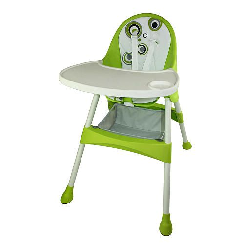 Baby Diego 2 In 1 Convertible High Chair Green Baby Diego