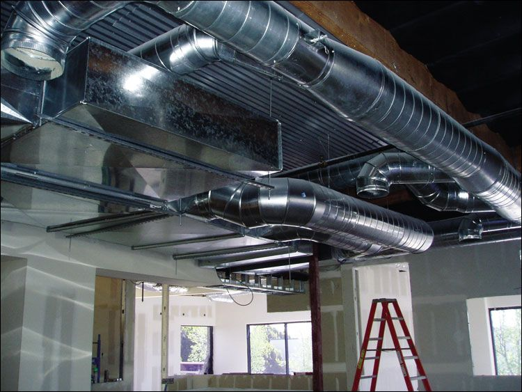 The Interior Works Of Your Home Rely On An Intricate Ductwork Maze That S Often Made Of Galvanized Steel With Images Duct Work Heating And Cooling Waxhaw