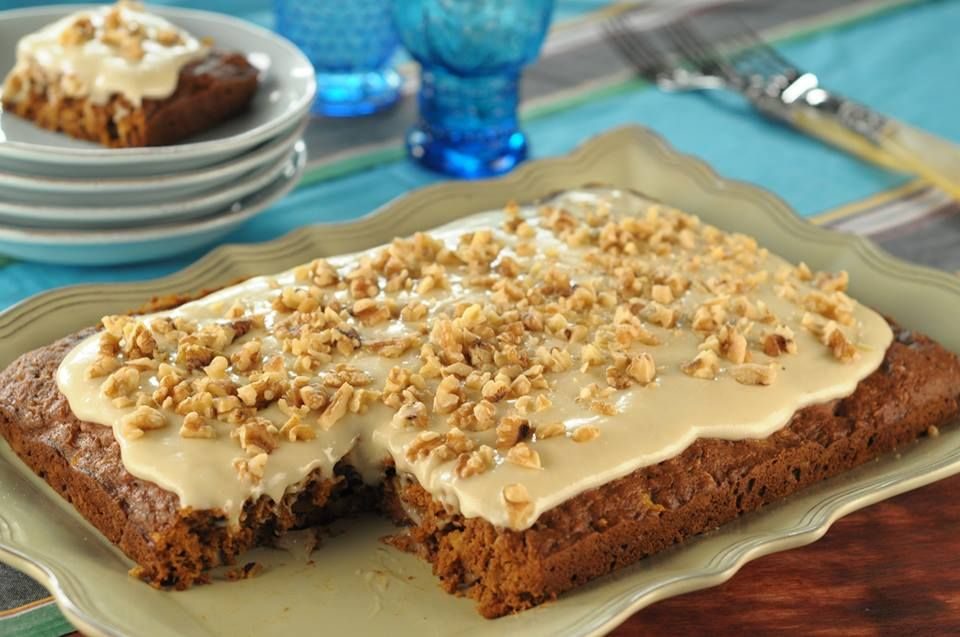 Trisha Yearwoods Healthy Recipes Slimmed Down Carrot Cake