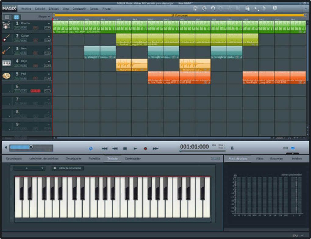 MAGIX Music Maker Download Music making software