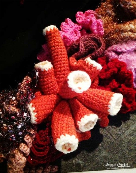 Hyperbolic Crochet and the History of the Crochet Coral Reef Project ...