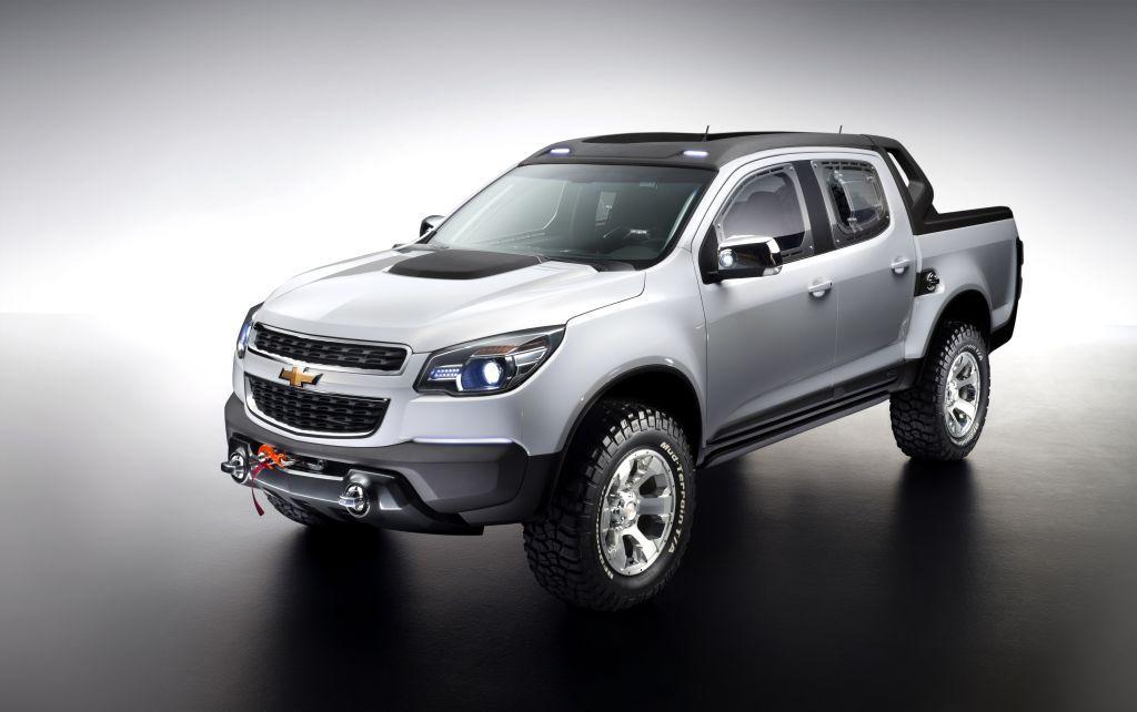 Chevy Colorado Rally Concept General Motors Usa Chevrolet