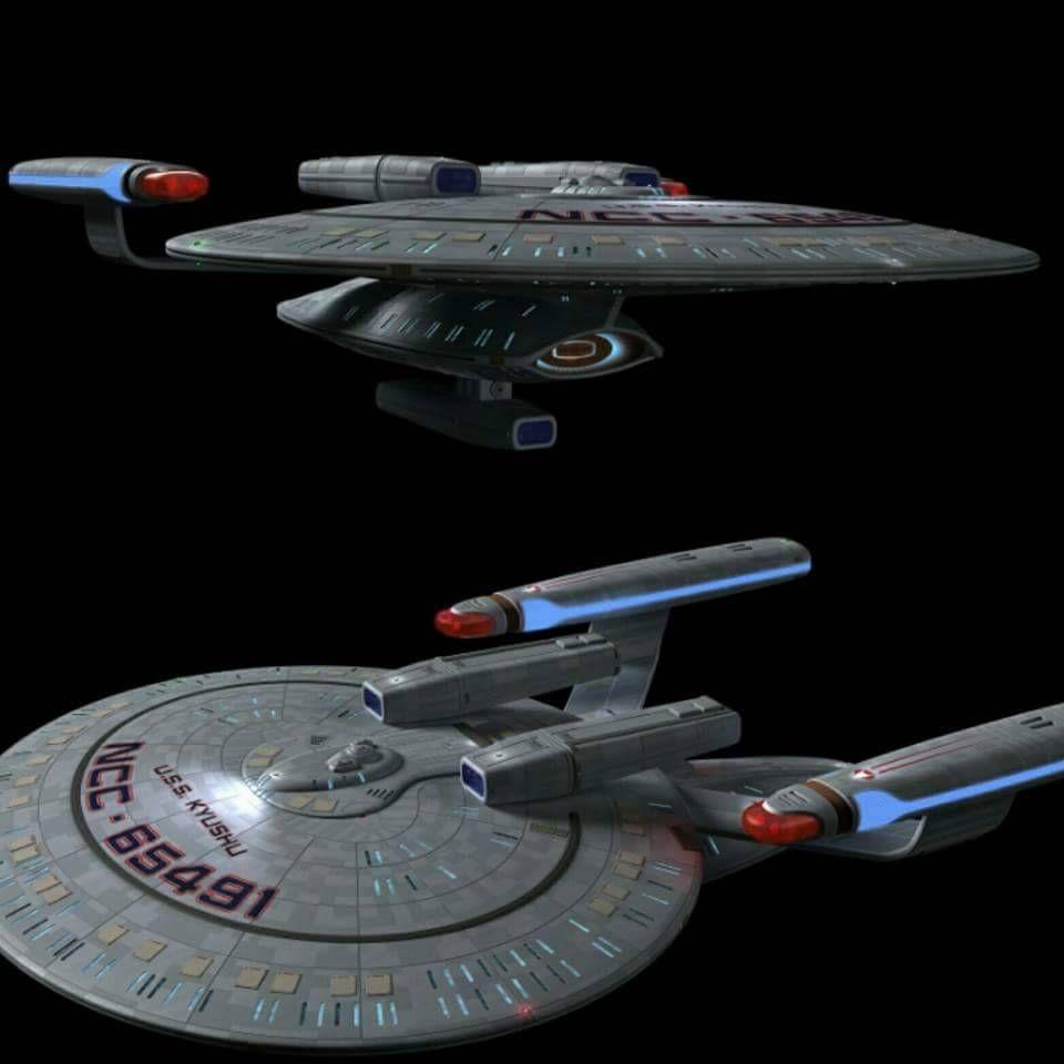 New Orleans Class Eaglemoss Star Trek USS Kyushu Toys & Games ...