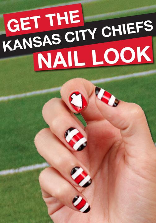 Go Kansas City Chiefs! Click to find your favorite team\'s FANICURE ...