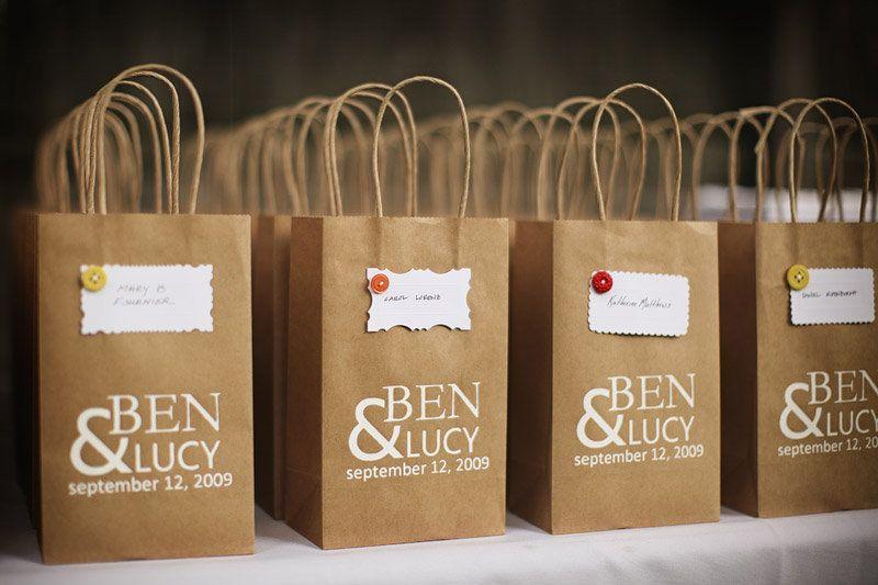 Wedding Gift Bag Ideas Washington Dc