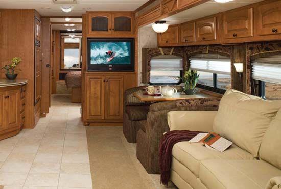 Class C Motorhome Interior Remodel | Motorhome Interior   Antsanch.com