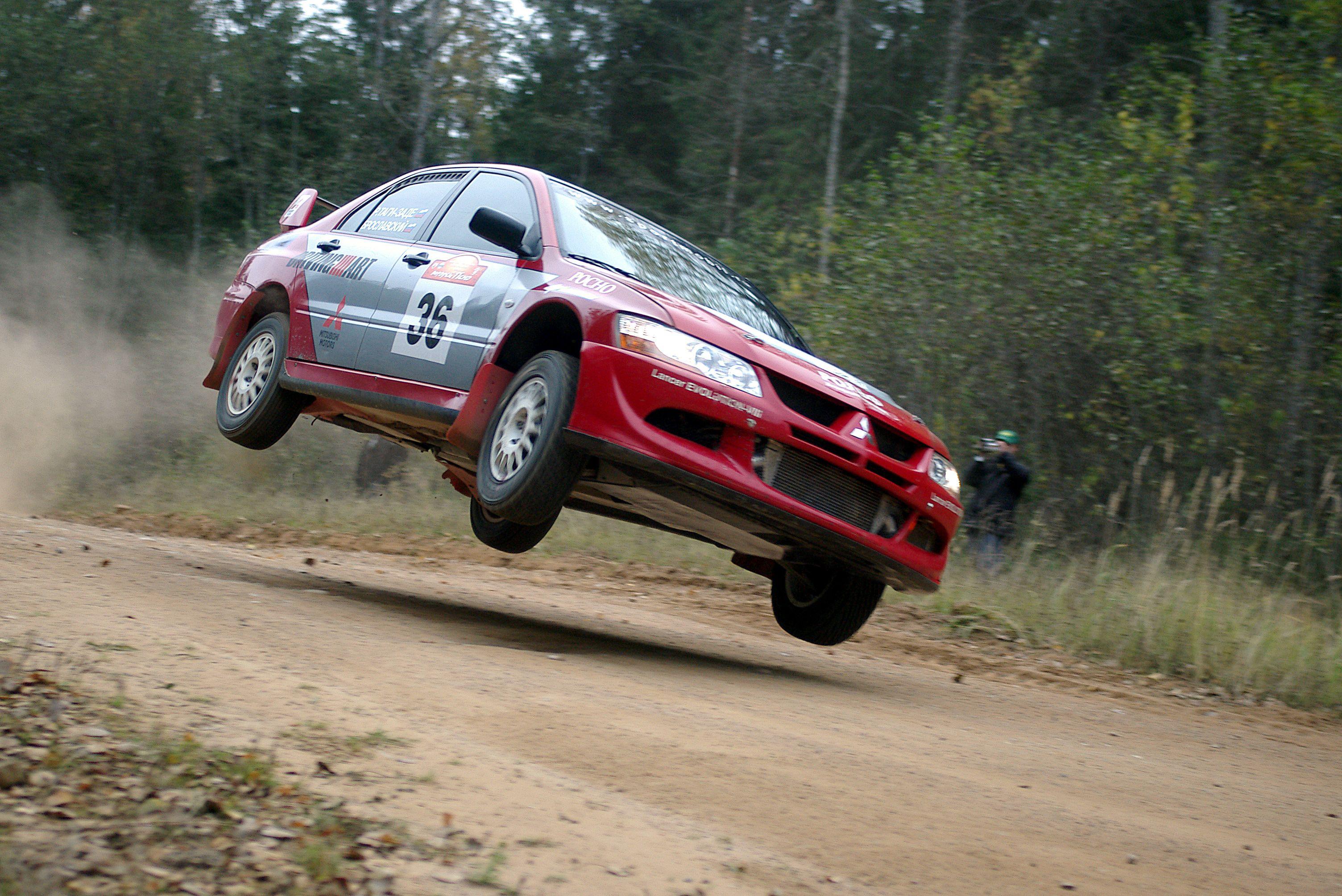 Mitsubishi Evo Rally Car | Motor sports (Rally・Hillclimb ...