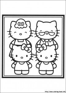 Hello Kitty Coloring Pages Preschool Activities Hello Kitty Coloring Kitty Coloring Hello Kitty Colouring Pages
