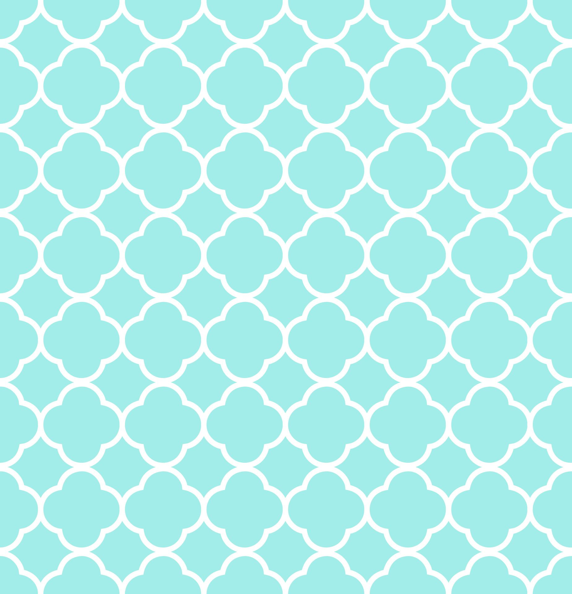 Eye Wall Stickers Quatrefoil Pattern Background Blue Free Stock Photo