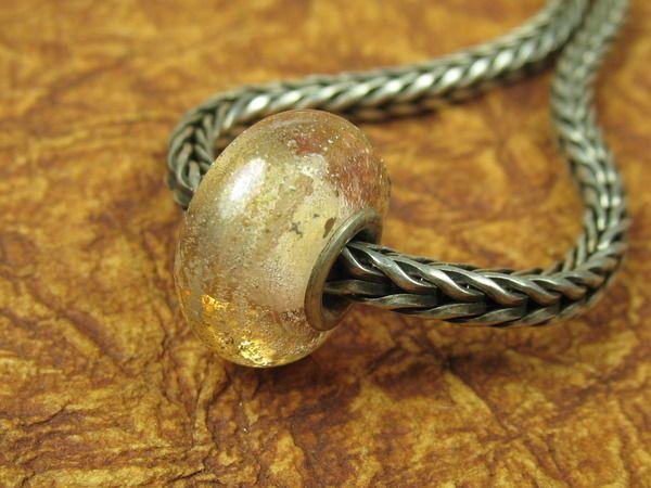 Into the Fire Lampwork Art Beads ~Rose Quartz~ Artist-made European glass charm #European