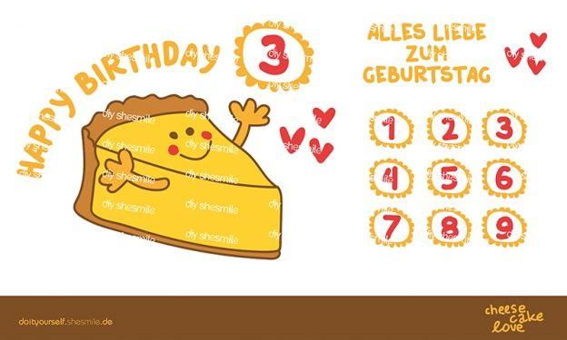 Käsekuchen Liebe (Plotterdatei / Illustration) Zur Gestaltung Von  Einladungskarten, Grußkarten, Speisekarten,