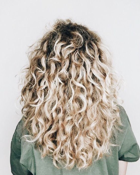 49+ Blonde curly hair trends