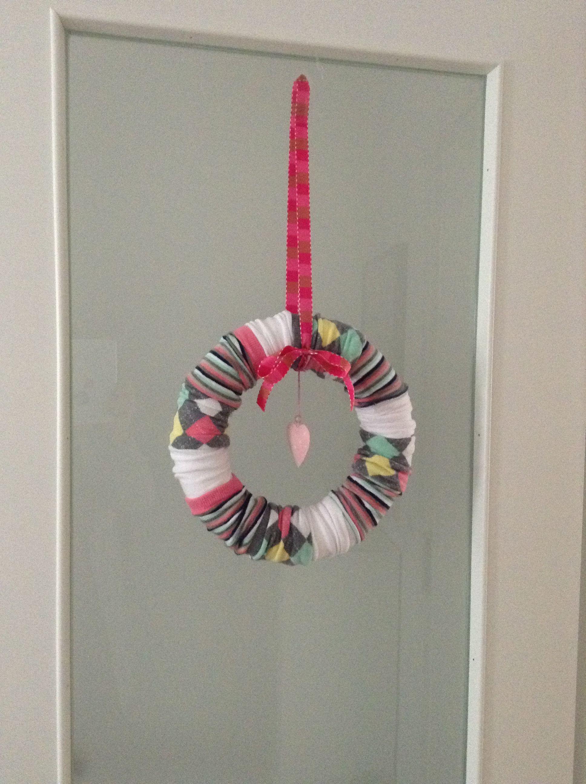 Mein Sockenkranz. | DIY Basteln + Nähen | Pinterest