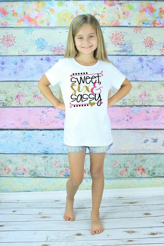 Six Birthday Shirt