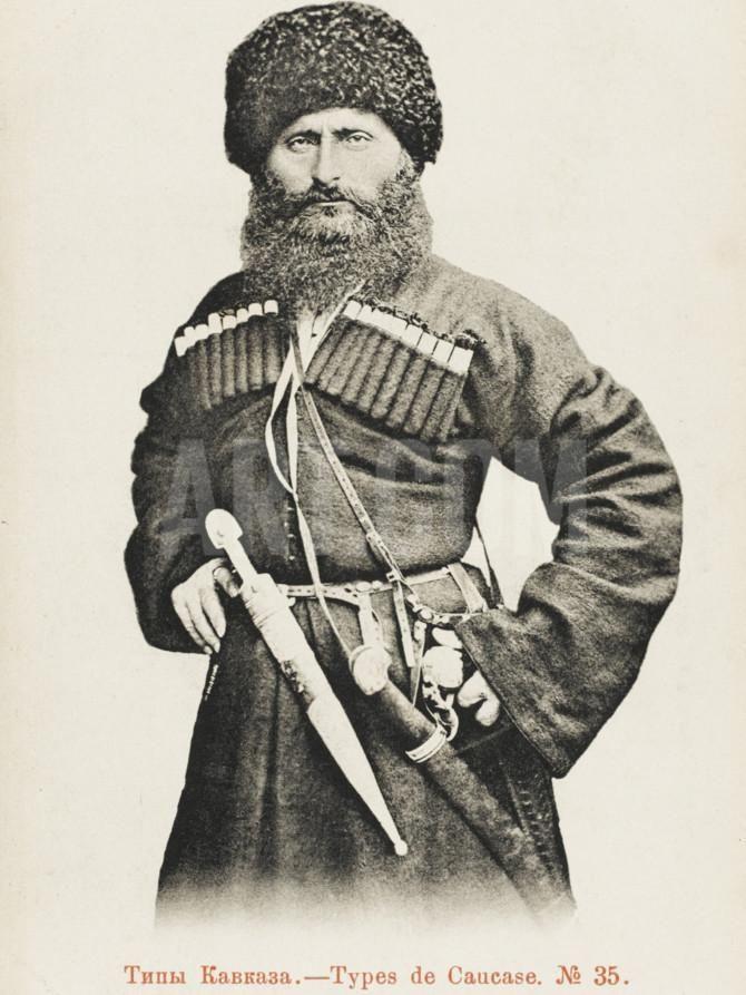 карачаевский воин картинка модели растет