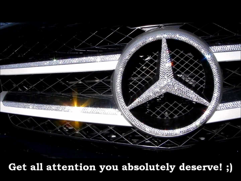 Crystallized With Sparkling Swarovski Crystals Car Emblems Crystal License Plate Frames Car Bling Bling Car Accessories Car Emblem [ 1080 x 1440 Pixel ]