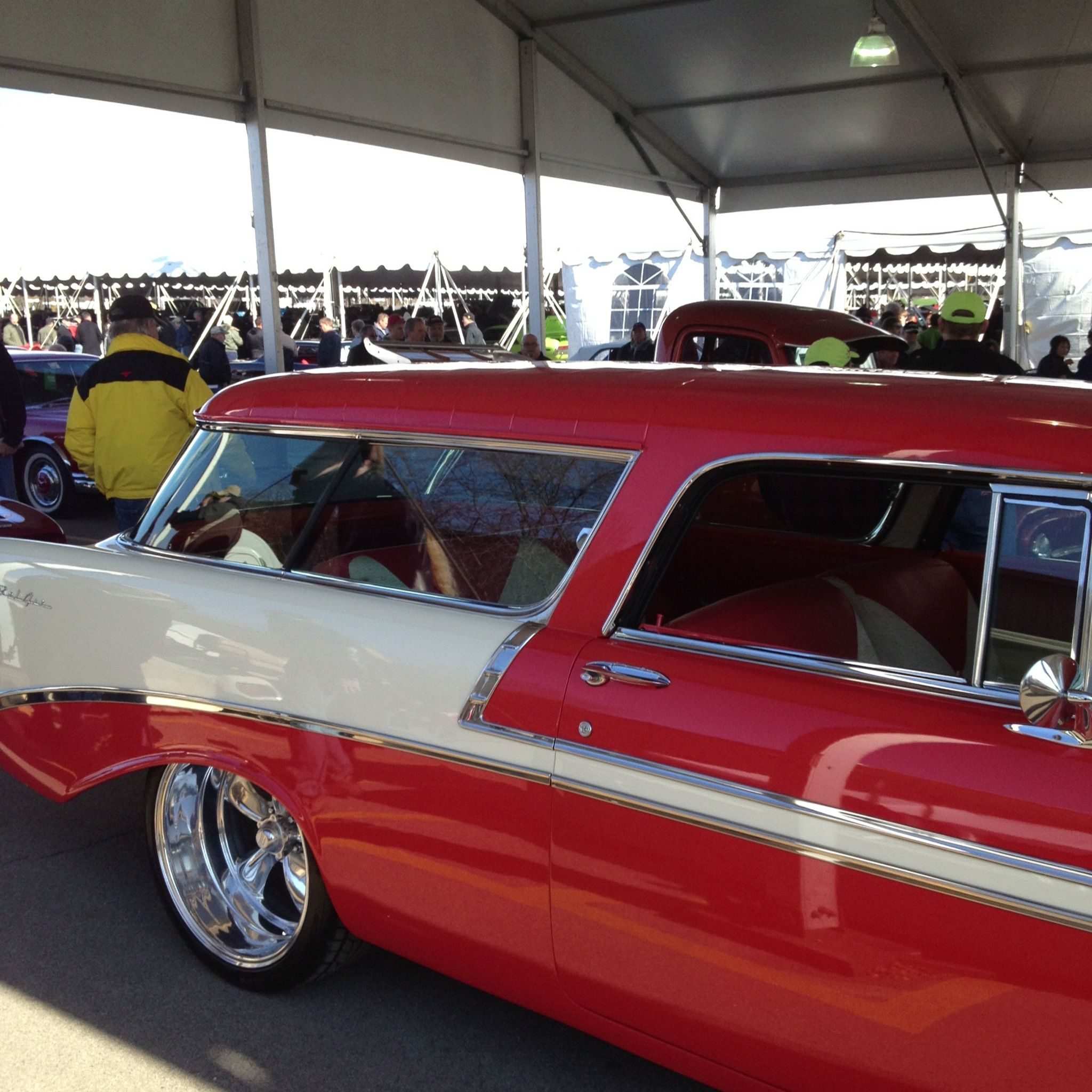 Chevy Nomad--Mecum Auction Lanes | Cars and motorcycles ...