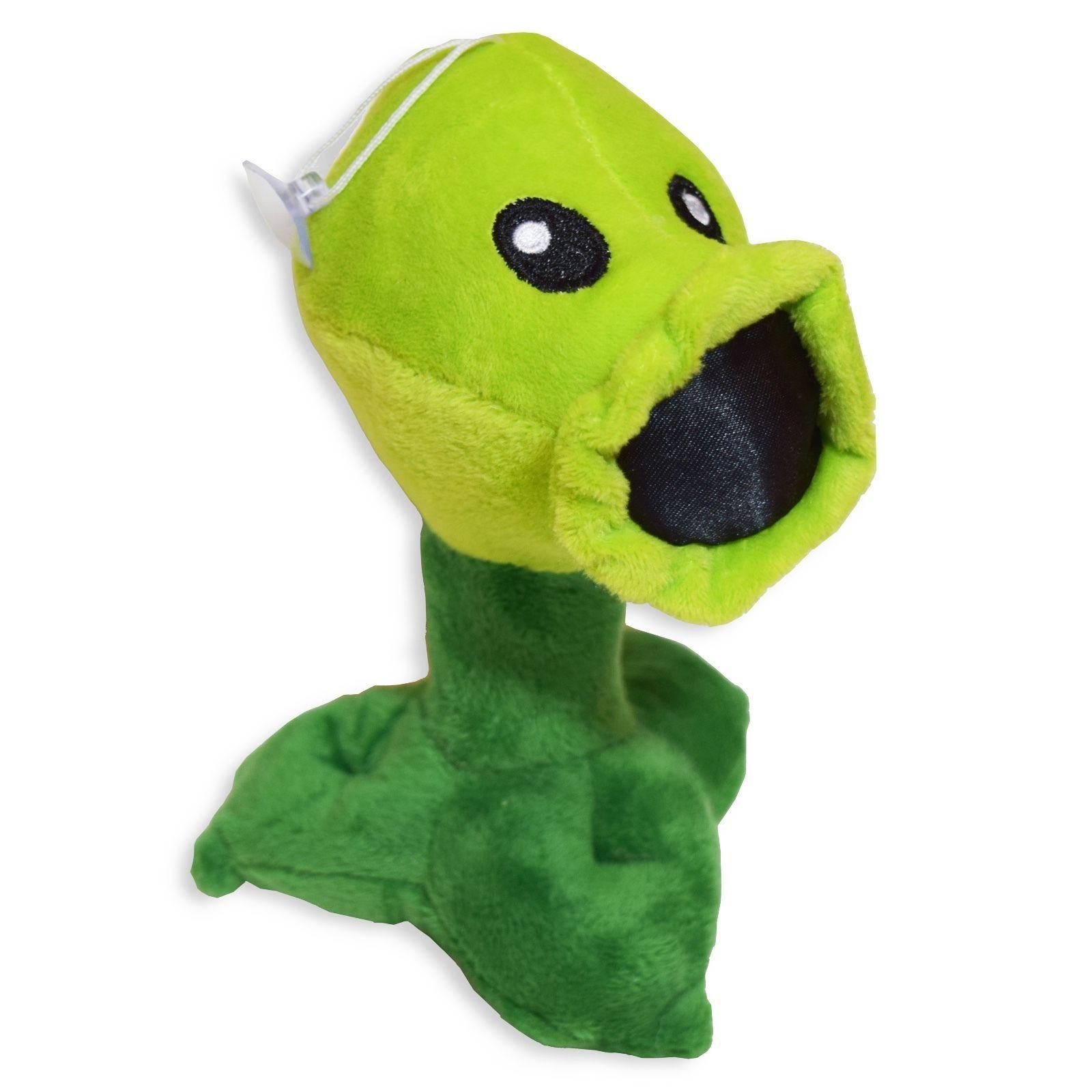 30cm Plants Vs Zombies Gatling Pea Peashooter Soft Plush Stuffed Toy New