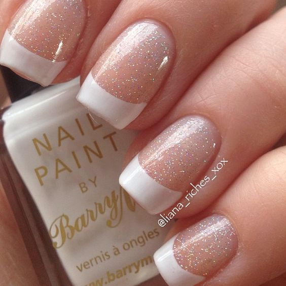 Top 30 Latest French Nails Art Design 2018 Gallery - Fashionre
