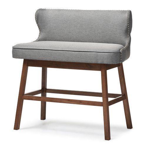Isobel Upholstered Bar Bench