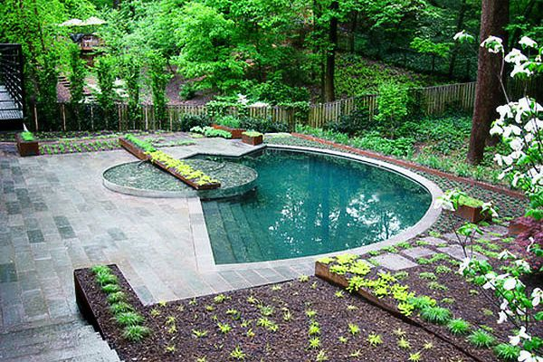 20 Tiny Pools   Small Pool Design Ideas is part of Small pool design, Small backyard pools, Small inground pool, Swimming pool designs, Pools for small yards, Small pool - Pictorial blog of small pool ideas, 25 examples of round, kidney and rectangle pools that are on the small side  From SPP Small inground pool kit ideas