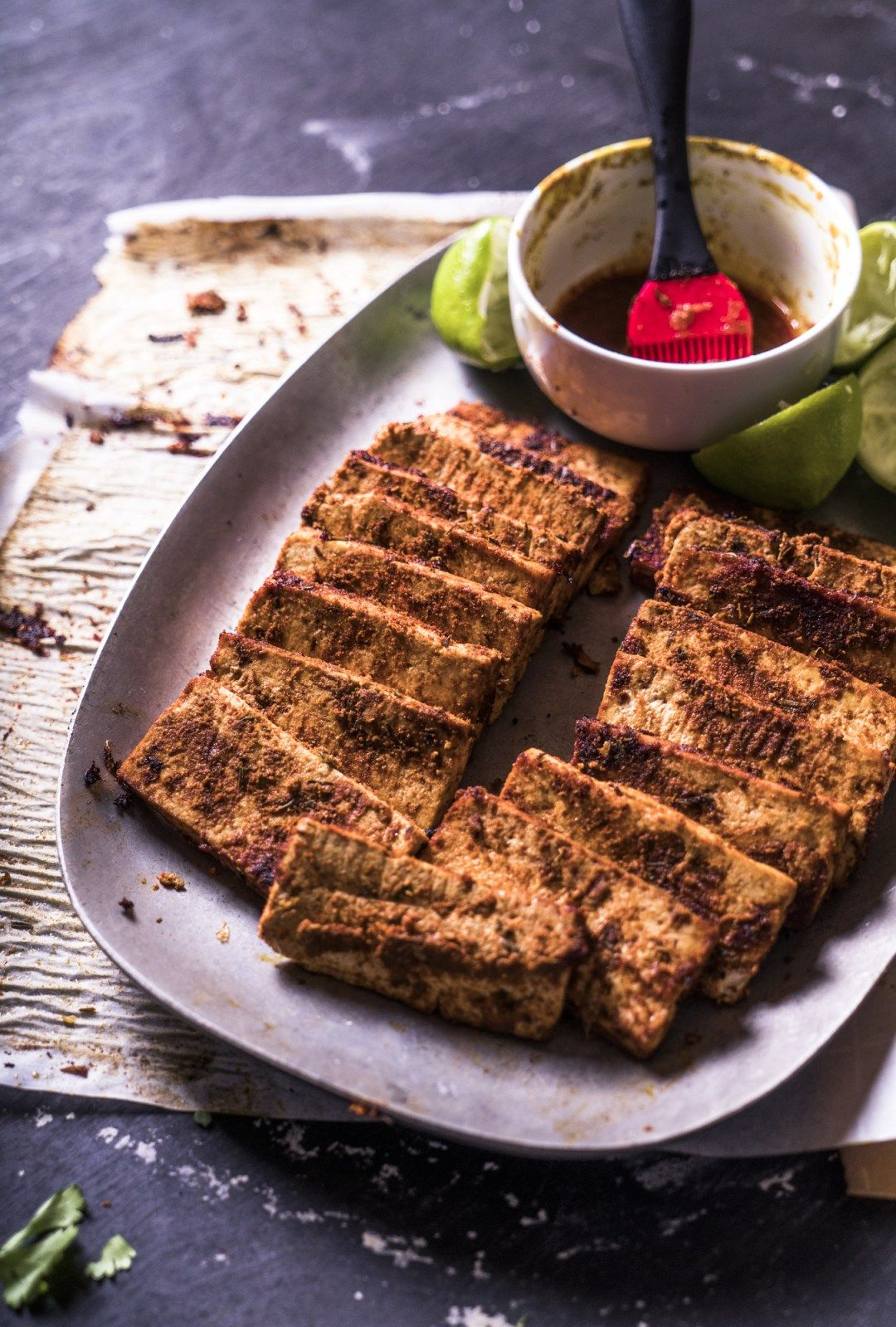 Easy Cajun Baked Tofu Ninas Vegan Recipes Ninas Vegan