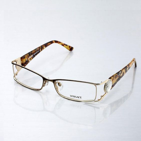 image detail for replica versace womens eyeglasses in gold frame outlet fake us