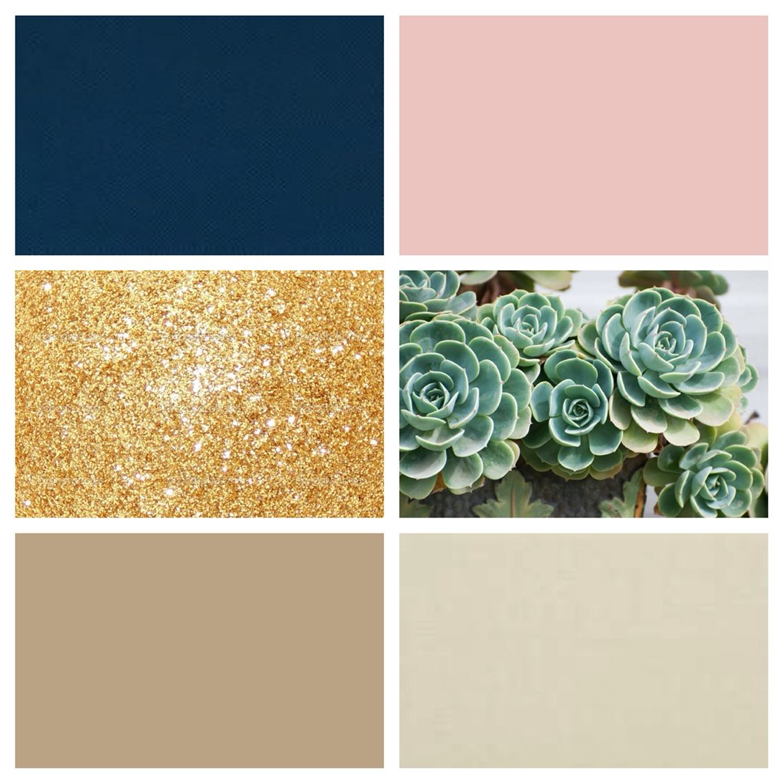 Bedroom color schemes gold - My Color Scheme Navy Blush Gold And Nudes With Succulent Green Accents