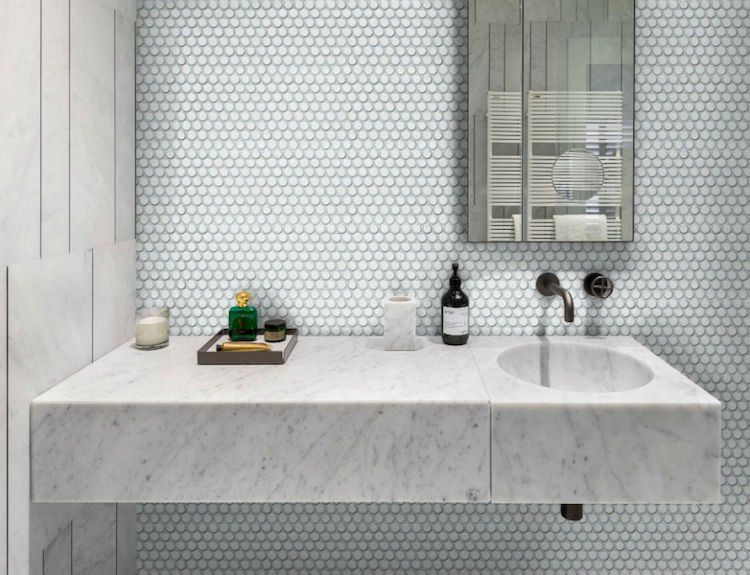Comment Integrer Le Carrelage Mosaique Ronde Dans Le Decor