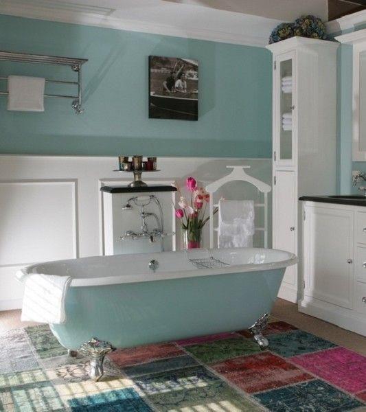 Bad op pootjes baden op poten gietijzeren queensland bad van heck badkamer pinterest - Badkamer retro chic ...