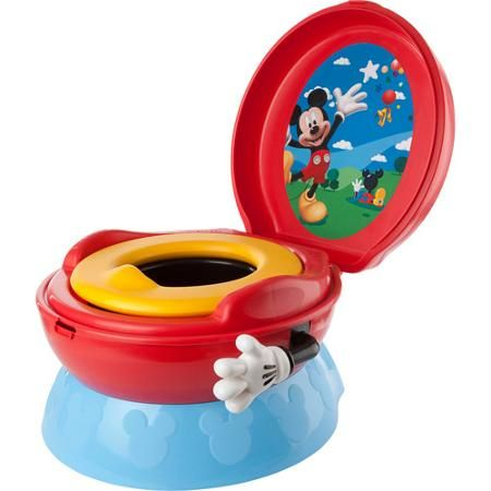 The First Years Disney Baby Mickey Mouse 3-in-1 Celebration Potty System - Walmart.com  sc 1 st  Pinterest & The First Years Disney Baby Mickey Mouse 3-in-1 Celebration Potty ...