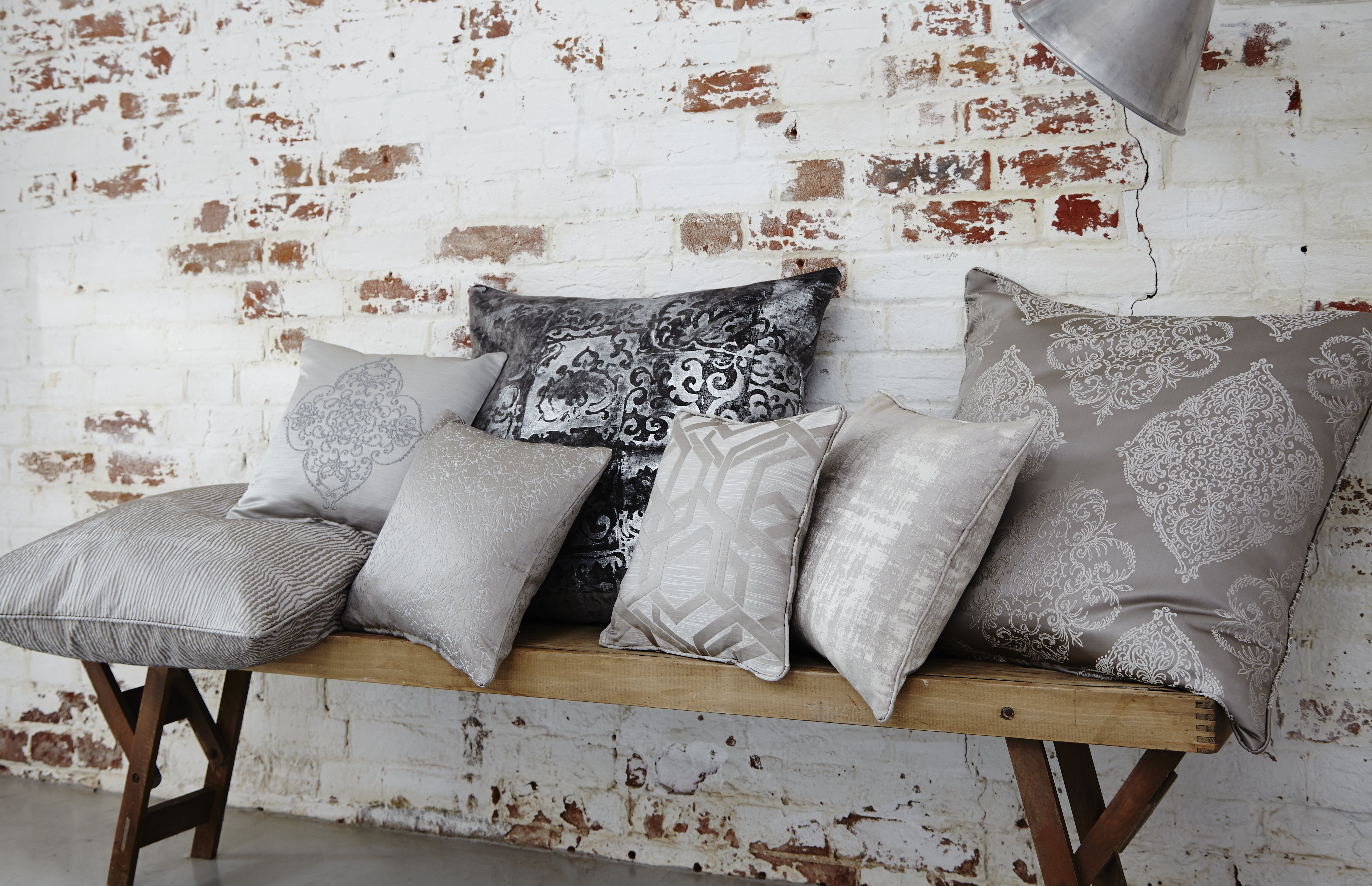 Get the look by pairing our fabrics with simple, rustic
