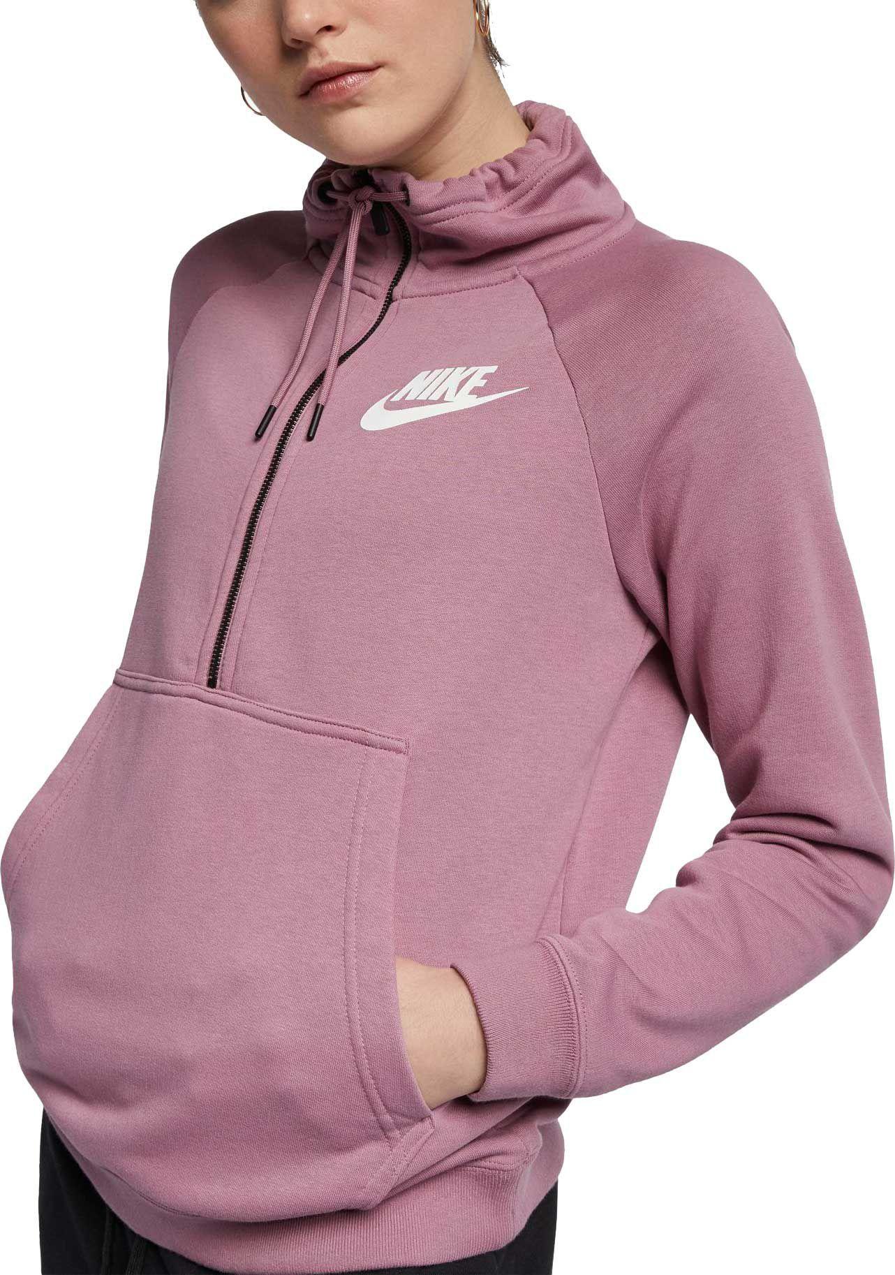 70e04f8ab885 Nike Women s Sportswear Rally Half-Zip Sweatshirt in 2019
