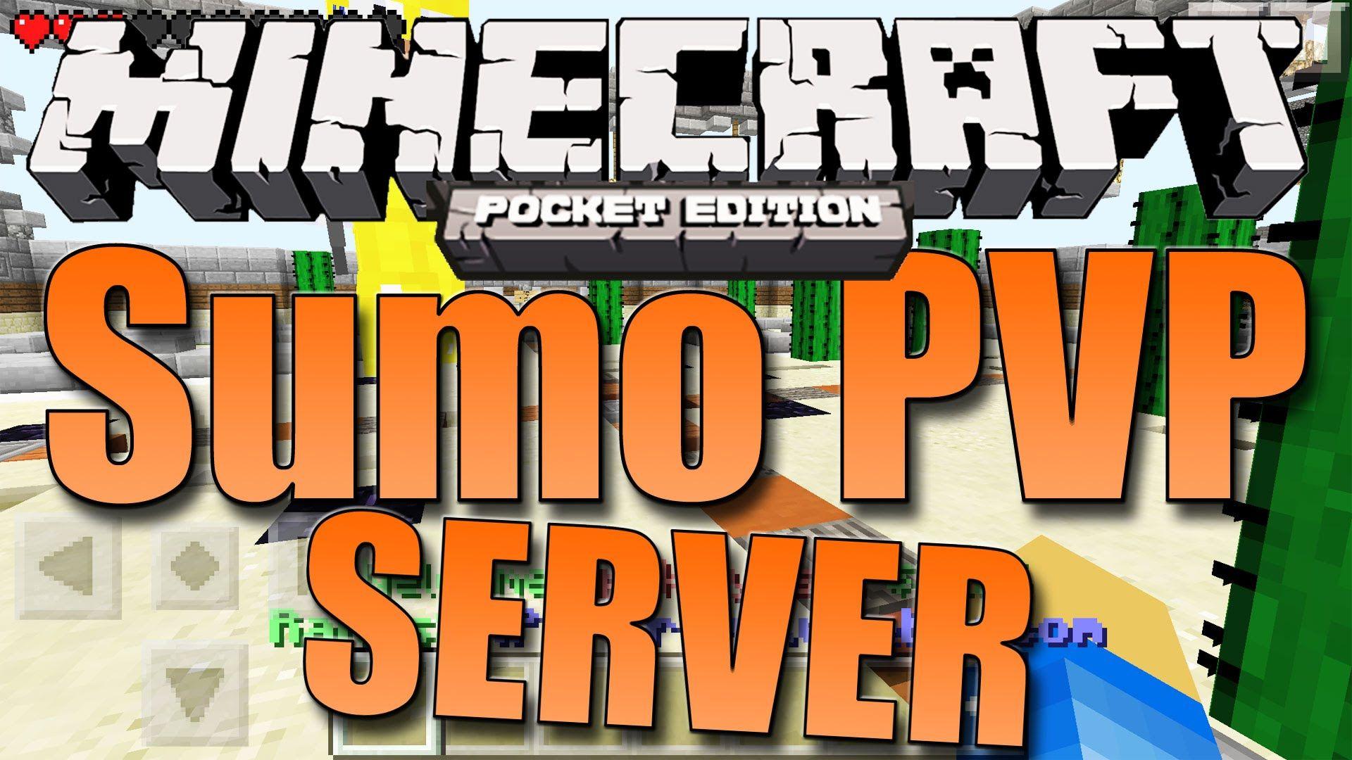 Minecraft Pe 0 11 1 Sumo Battle Server Apok S Server Tour Day 1 Minecraft Pe Minecraft Pocket Edition Pocket Edition