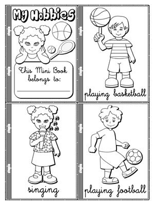 hobbies coloring pages - photo#25