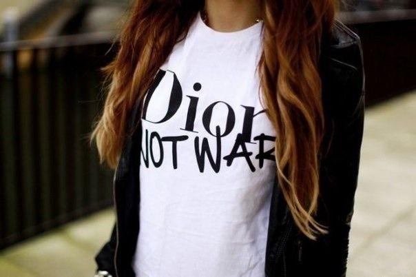Dior - not war
