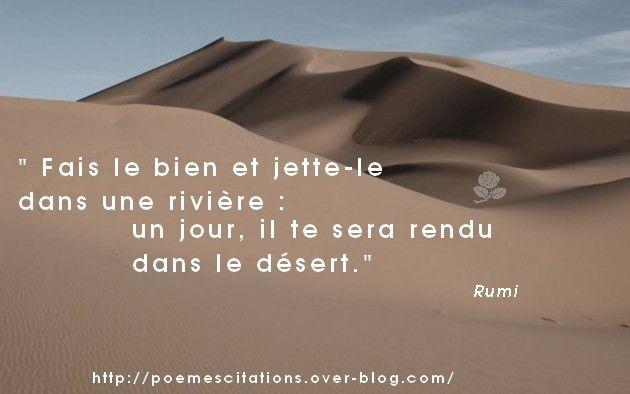 Faire Le Bien Citations Rumi Poeme Et Citation Et Citation